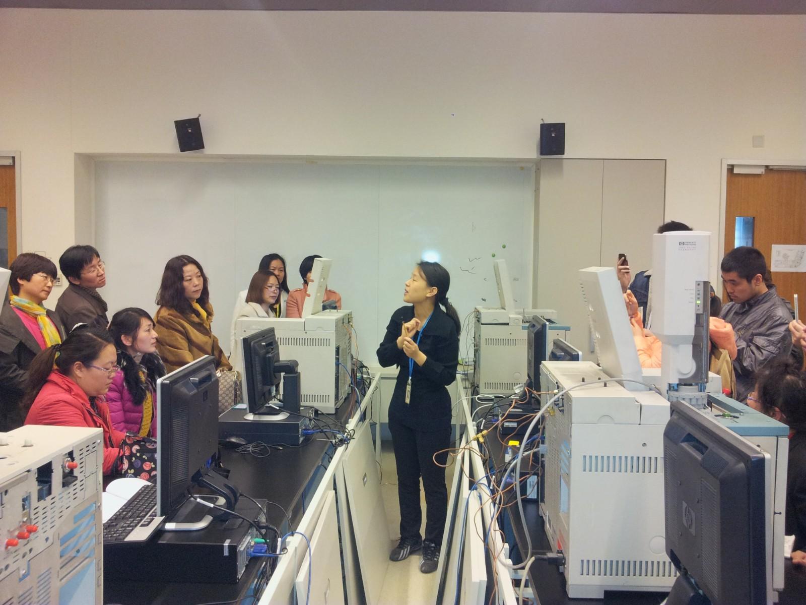 分析仪器操作培训