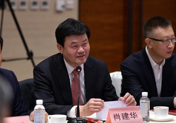 CNAS秘书长肖建华致辞。